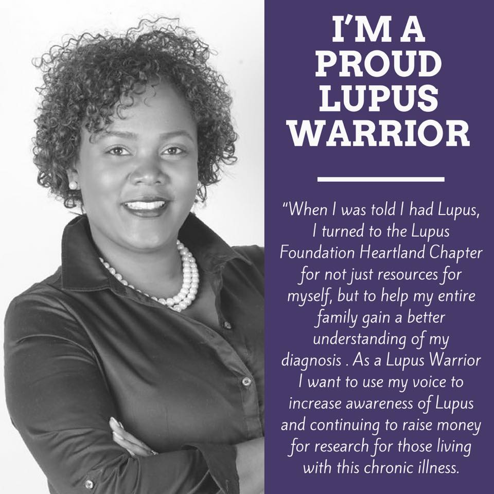 Jami Dolby Proud Lupus Warrior